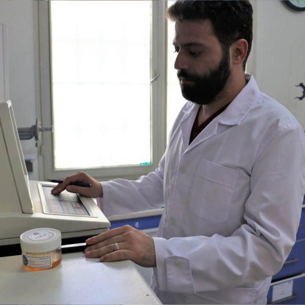 آزمایش محصولات سفیدانه (پرولین) | آزمایش عسل طبیعی (پرولین) | آزمایش پرولین در عسل