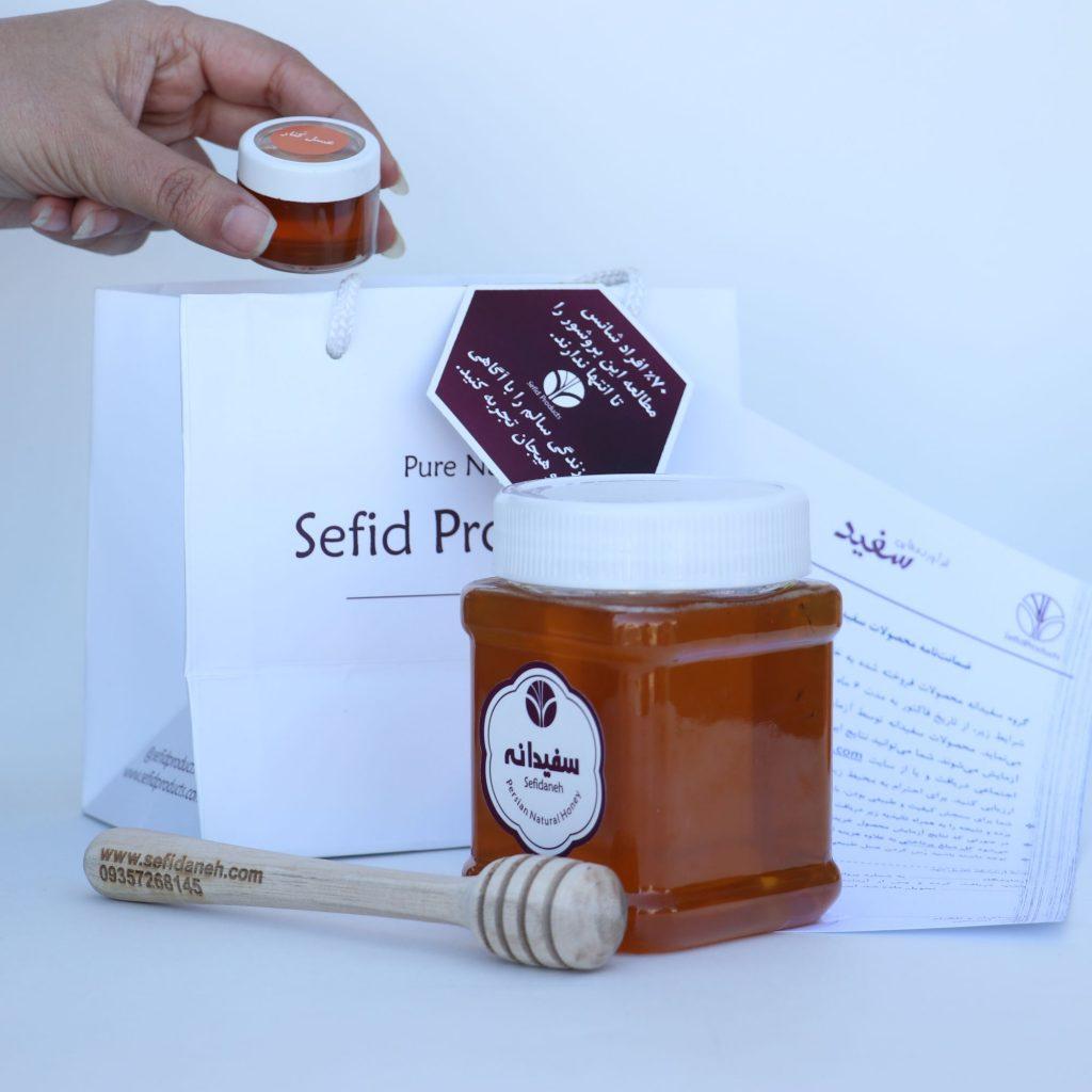 خرید عسل چهل گیاه | قیمت عسل چهل گیاه | خواص عسل چهل گیاه | طبع عسل چهل گیاه | سفیدانه