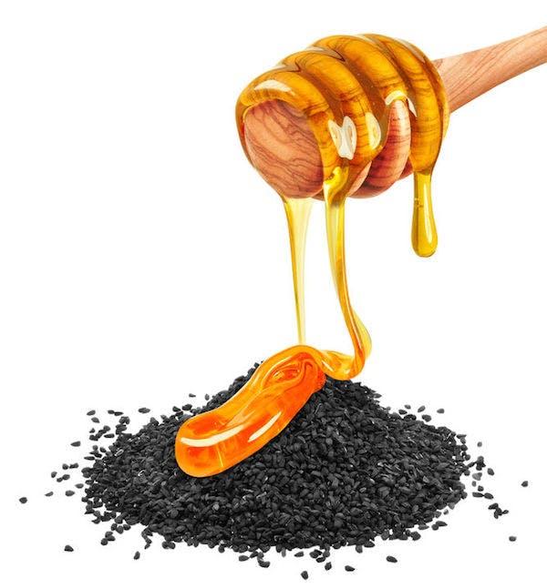 ترکیب عسل و سیاه دانه