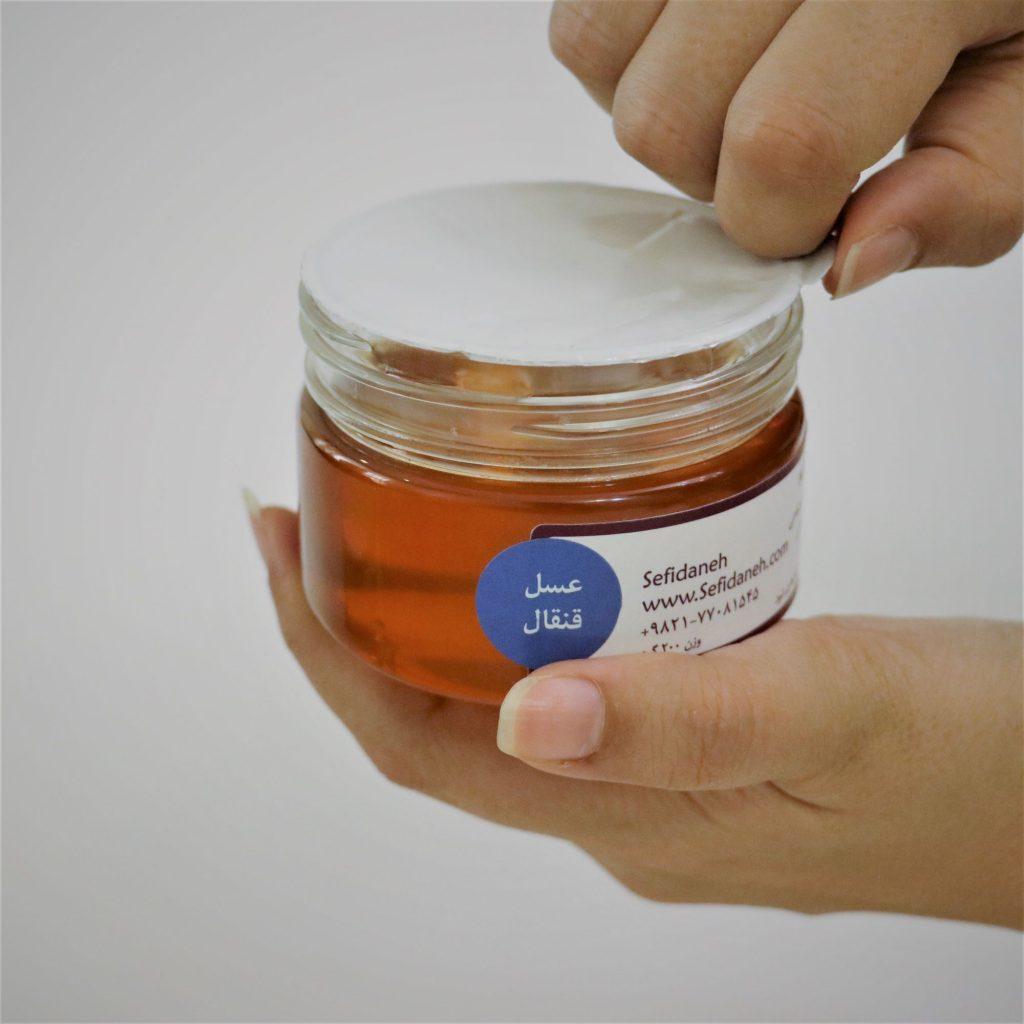 خرید عسل قنقال | قیمت عسل قنقال | خواص عسل قنقال | طبع عسل قنقال | سفیدانه