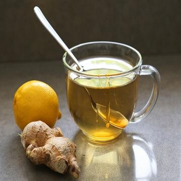 چای زنجبیل و عسل