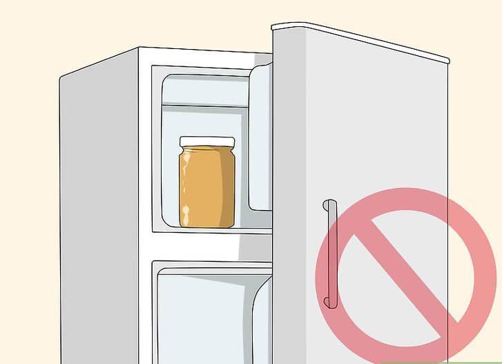 عدم نگهداری عسل در یخچال