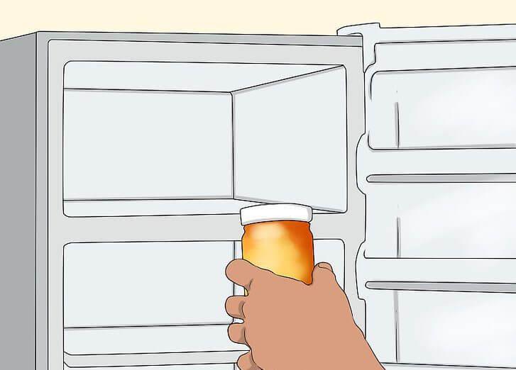 نگهداری عسل در یخچال