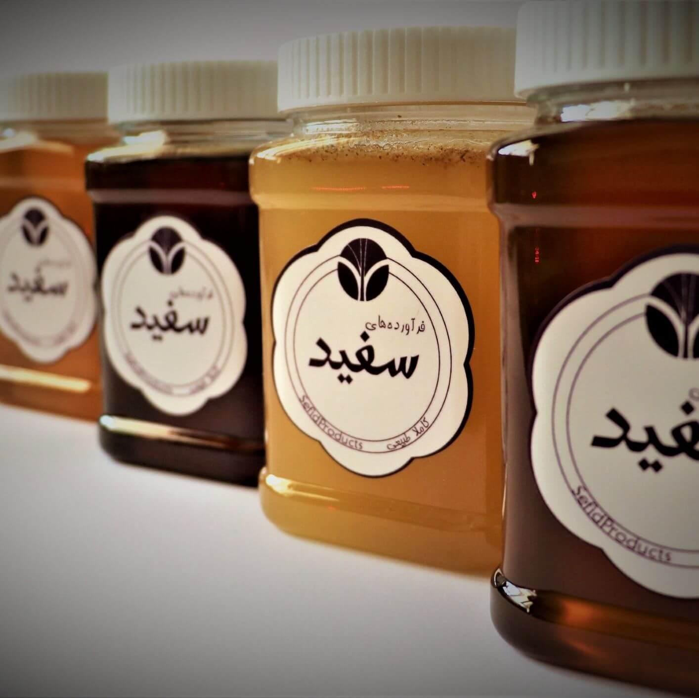 عسل خام چیست | خواص عسل خام | سفیدانه