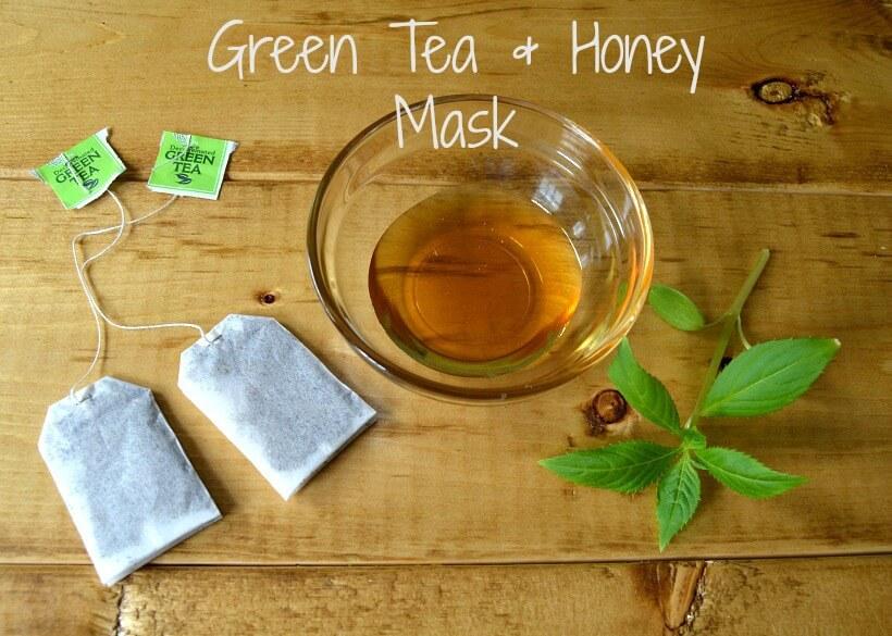 ماسک عسل و چای سبز 1