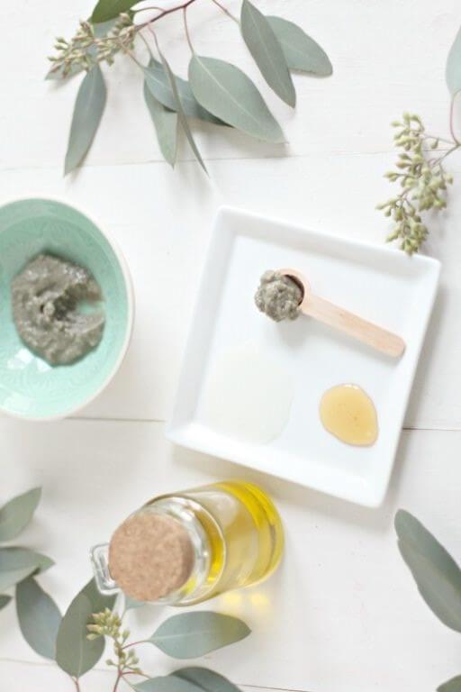 ماسک عسل و خاک رس 1