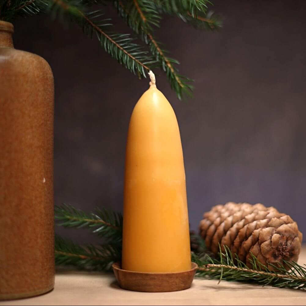 شمع با موم عسل | شمع با موم زنبور | شمع ارگانیک | سفیدانه